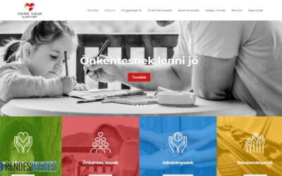 A Vásáry Tamás alapítvány honlapja