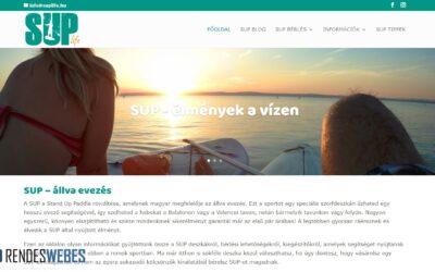 SUPlife.hu – SUP portál készítése