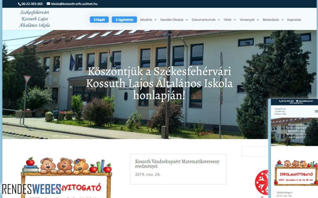 Kossuth Lajos általános iskola honlapja