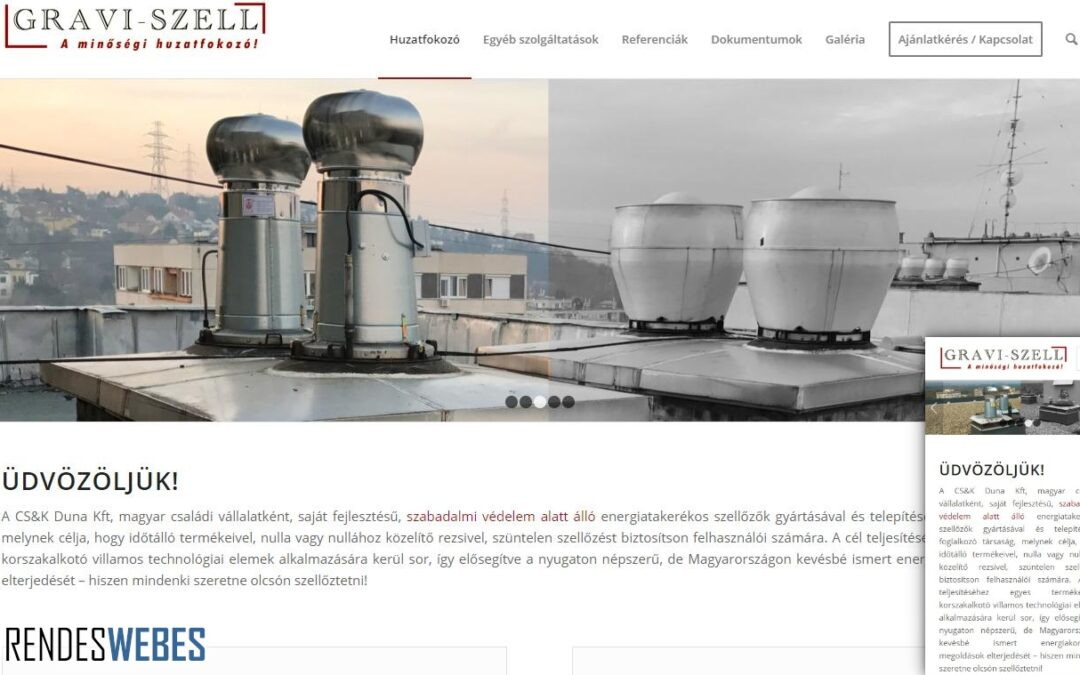 Cs&K Duna Kft. honlapja