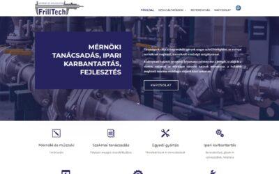 Frilltech Kft. weboldala
